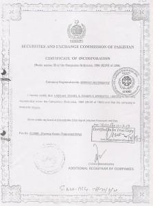 Labbaik Tours SECP Certificate